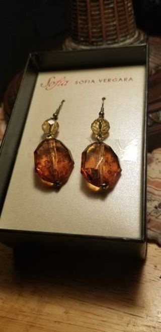 Sofia Vergara Amber Dangle Drop Earrings