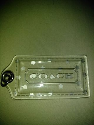 Authentic Coach Purse Tag