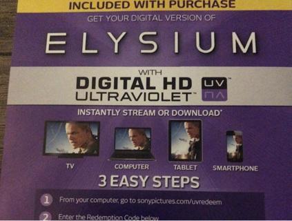 ELYSIUM UV digital copy
