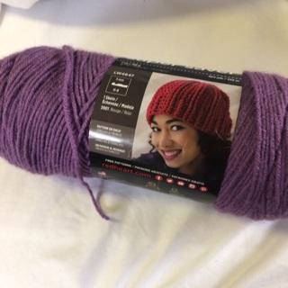 7 Oz Medium Purple 100% Acrylic Yarn. #1