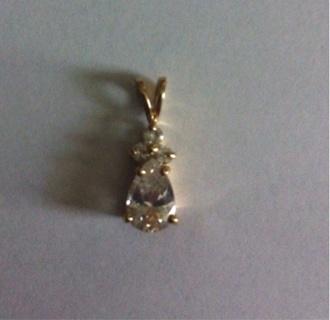 Pear Shaped Pendant