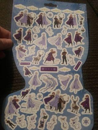 Frozen sticker sheet