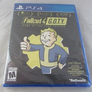 PS4 Fallout 4 ~ Game of The Year Edition!