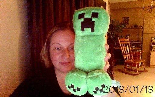 Minecraft Big Creeper Plush