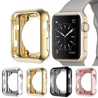 Apple Watch Series 4/3 TPU Bumper iWatch Screen Protector Case Cover 38/42/44MM