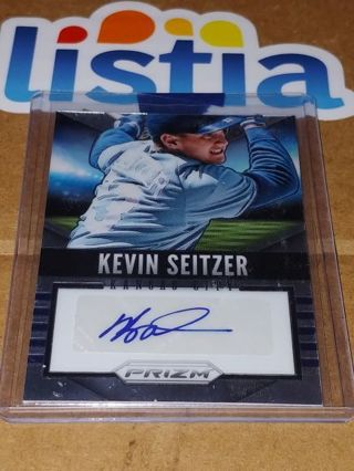 KEVIN SEITZER⭐KANSAS CITY ROYALS ⭐2014 PANINI PRIZM ⭐ CERTIFIED AUTOGRAPH ⭐ FREE $HIPPING