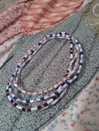 4 Homemade Stretchy Variety colored Bracelets