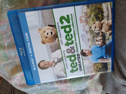 Ted and Ted 2 unrated digital copy hd