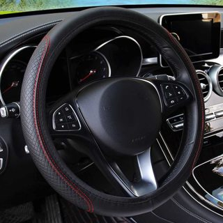 [GIN FOR FREE SHIPPING] Universal Car Steering Wheel Cover Skidproof Auto Cover Anti-Slip