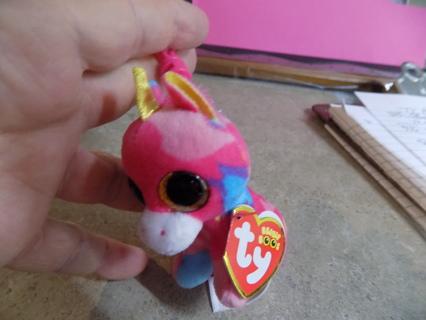 TY Teanie beanie boos Fantasia dragon keychain