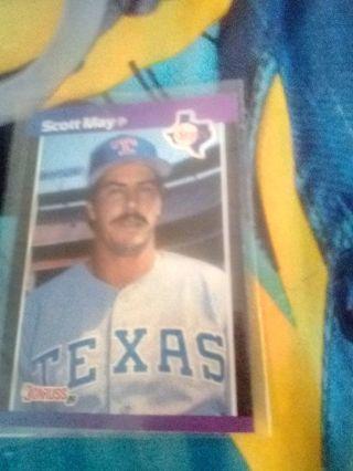 1989 Donruss #636 Scott May DP