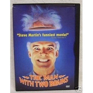 dvd-the man with two brains-steve martin-1983-used-ex