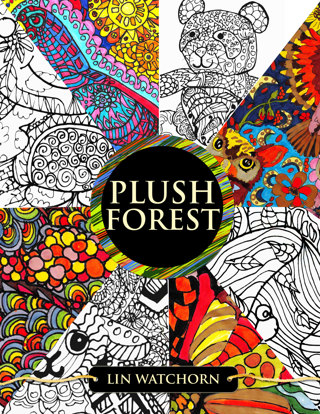 Plush Forest Coloring Book For Adults