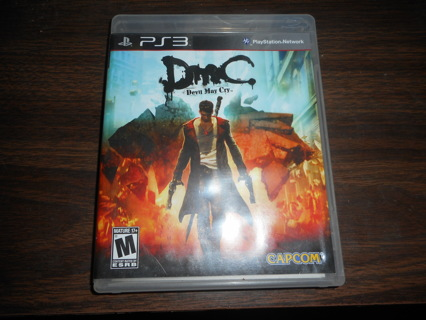 PS3 Game - DMC: Devil May Cry