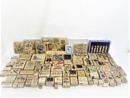 Mystery Rubber Stamp Priority Box Auction