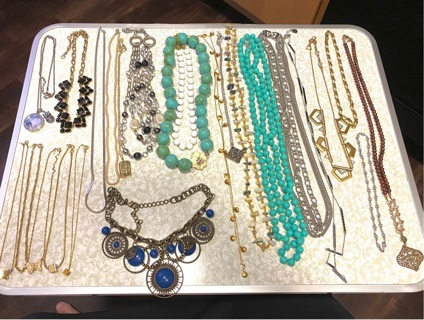 Pre owned , Lots of  costume jewelry many signed