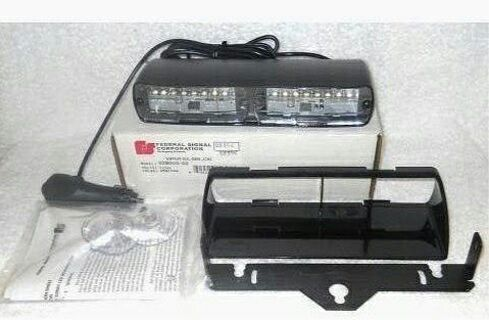 Federal Signal VIPER S2 Police & Fire fighter LED strobe NEW 23 Patterns