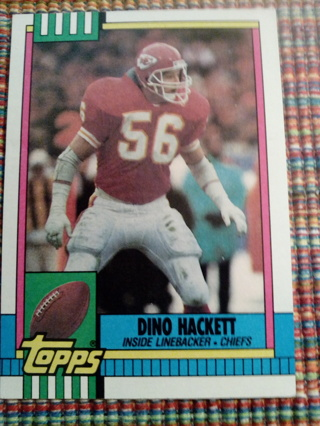 Topps #262 Dino Hackett