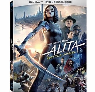 ALITA: BATTLE ANGEL (starring Rosa Salazar, Christoph Waltz) - HD MA digital copy from Blu-Ray