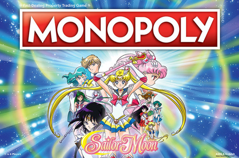 NEW Monopoly Sailor Moon Board Game | Based on the Popular Anime TV Show FREE SHIPPING