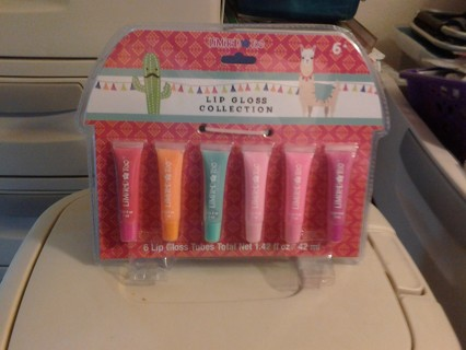 6 PC Lip Gloss Gift Set