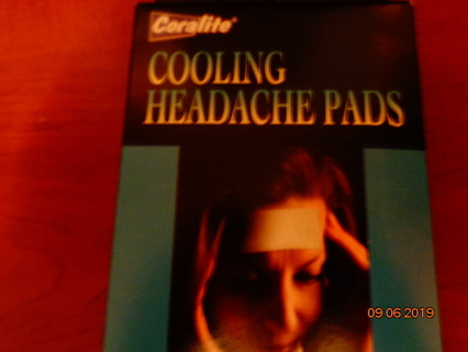 cooling headache pads
