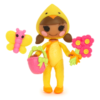 """Mini Lalaloopsy Doll """"MAY LITTLE SPRING"""" NEW for 2014 ~ NIP"""