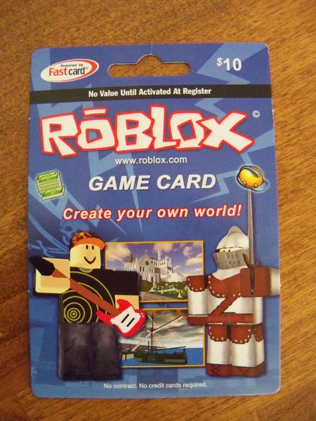 Free: Roblox Gift Card $10 - Video Game Prepaid Cards ...