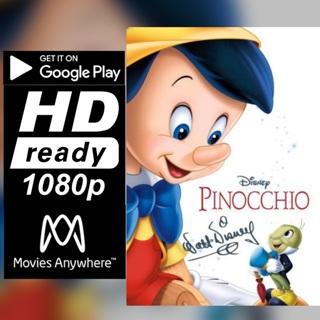 PINNOCHIO   HD GOOGLE PLAY CODE ONLY