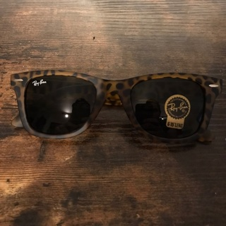 Tortoise Matte Rayban New Sunglasses