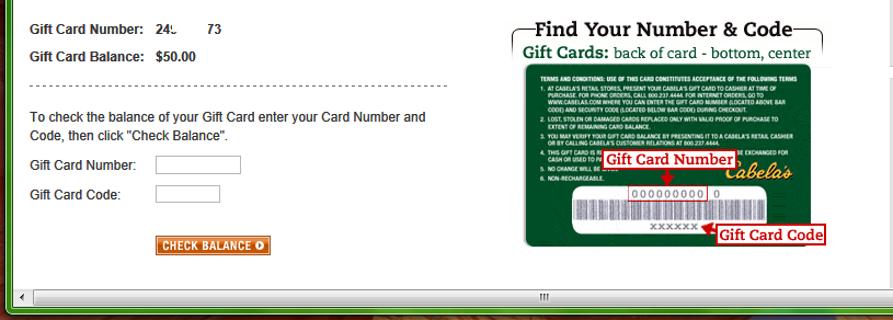 Cabela Gift Card Balance | Lamoureph Blog