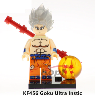 Dragon Ball Z Son Goku Instic Building Blocks Kids Toys Collection