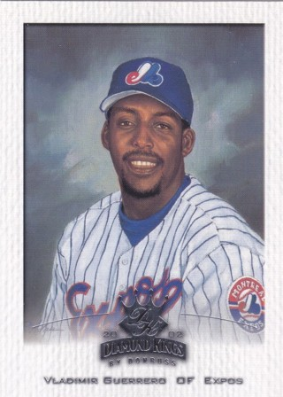 Vladimir Guerrero 2002 Donruss Diamond Kings Montreal Expos