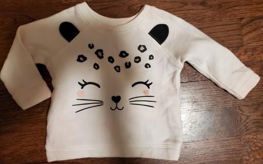 NEW - Carter's - girls long sleeve shirt - size 6 months