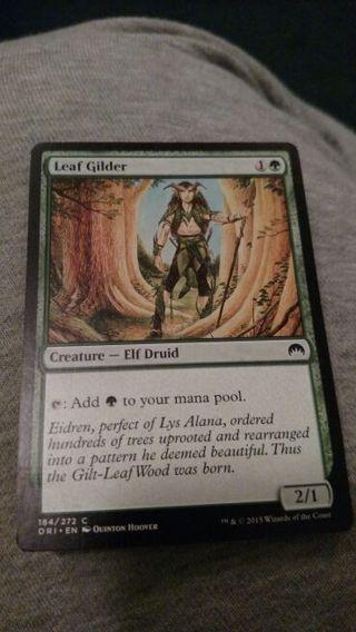 MTG Magic Origins Leaf Glider