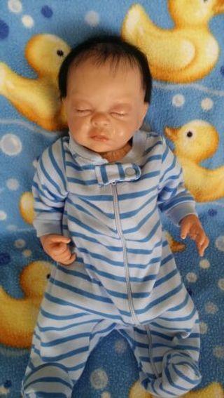 Biracial Reborn or play doll, BabyTaite