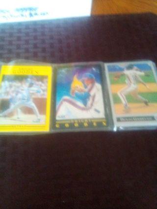 Dwight Gooden 11 card lot