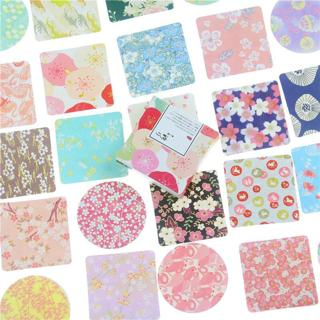 40 Pcs/box MISS TIME Colorful flowers paper sticker decoration DIY diary scrapbooking sealing stic