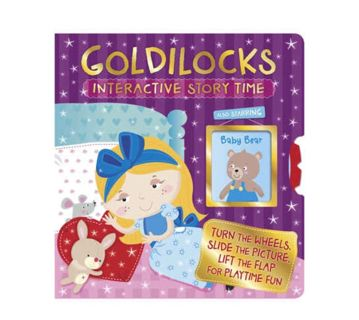 $14.95 Goldilocks: 2016 HUGE Hardcover Interactive Cool Storytime Book by Igloo-NEW
