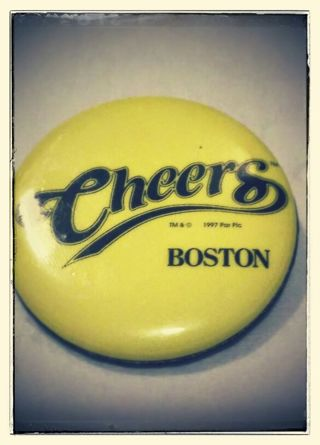 1997 Pop Inc Cheers Collector Pin.