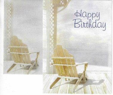 Brand New Never Been Used Birthday Card With Matching Envelope