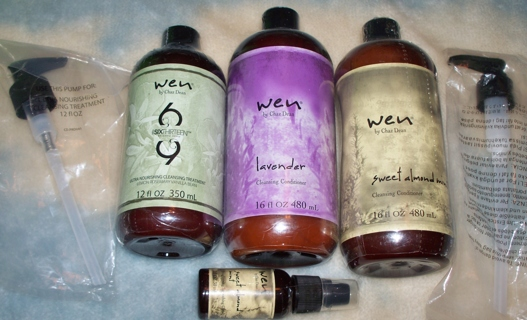 """""""WEN By CHAZ DEAN"""" SWEET ALMOND MINT Or LAVENDER CLEANSING CONDITIONER 16 Oz PLUS  $115 Value"""