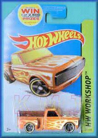 Hot Wheels '69 custom Chevy pickup
