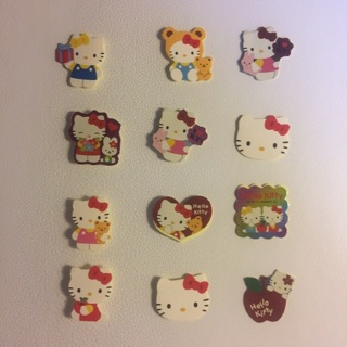 Sanrio Hello Kitty Sticker Flakes ~ 12 TOTAL ~ VERY KAWAII!!
