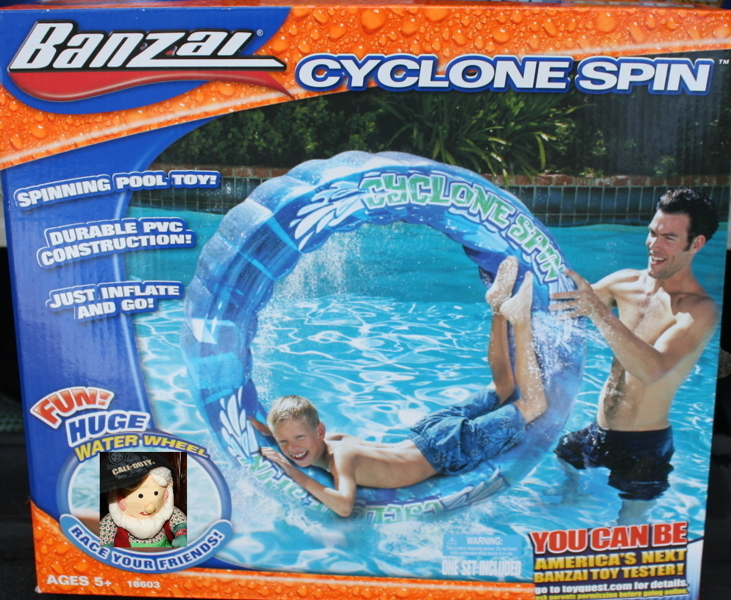New Spin Toys : Free new banzai cyclone spin spinning pool toy water