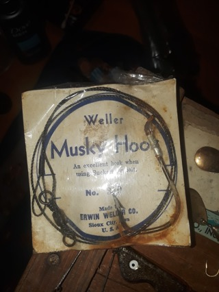 vintage muskey hook
