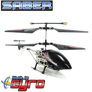 Saber 3.5Ch Gyro Metal Ir Helicopter