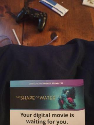 The Shape of Water VUDU Code