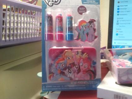 Hasbro My Little Pony Lip Balm & Tin Set