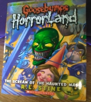 Goosebumps HorrorLand #4:Scream Of The Haunted Mask Paperback